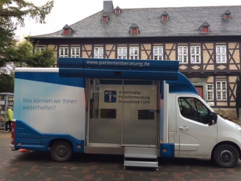 Beratungsmobil der Unabhängigen Patientenberatung kommt am 30. Januar nach Goslar.