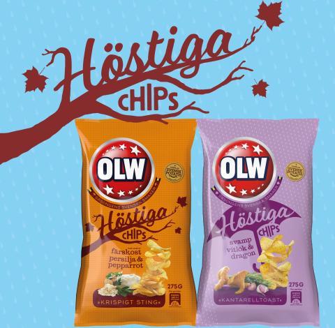 Höstiga smaker från OLW - nu i butik