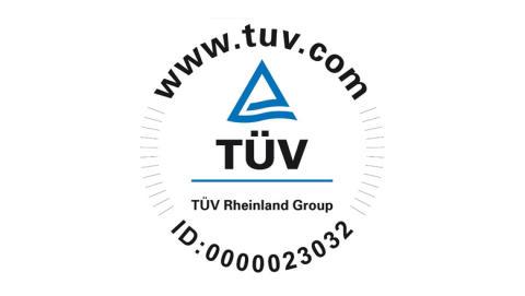 TÜV certificerings logo