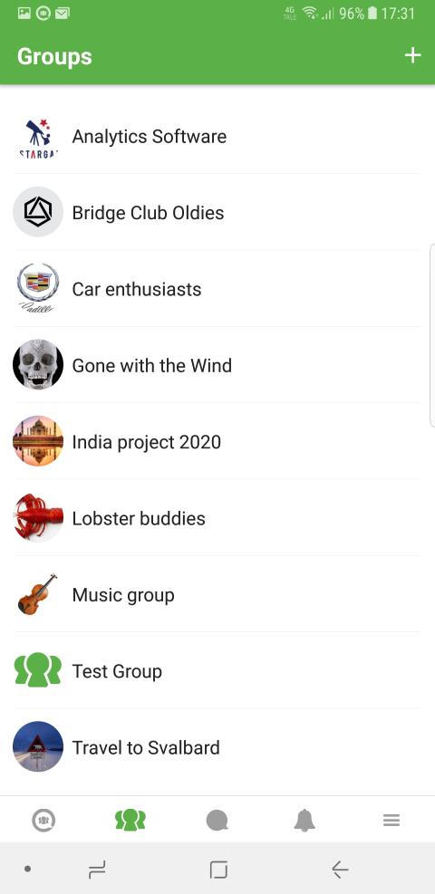Idka App Groups