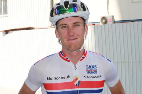 Kristoffer Skjerping under sykkel-VM 2016