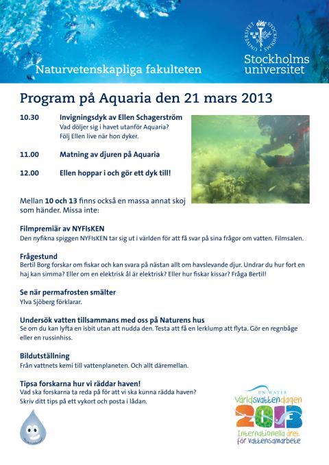 """Program """"Hur mår Östersjön? Forskare rapporterar under ytan"""