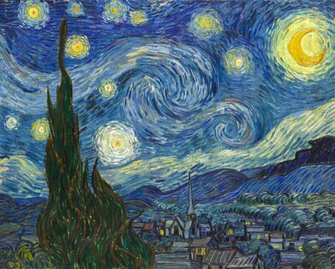 Van Gogh Alive på Hadeland glassverk