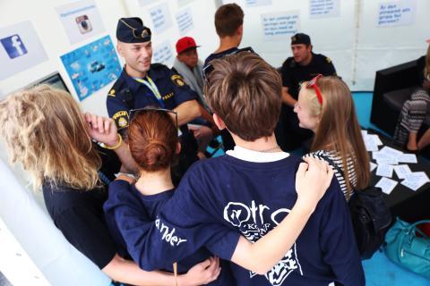 Häng med polisen och Polismuseet på We Are Sthlm 11-15 augusti