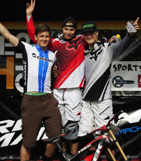 Tredje deltävlingen i svenska downhill cupen
