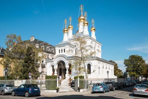 Russsich-Orthodoxe Kirche in Genf