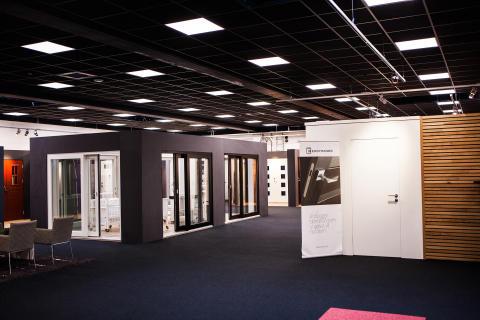 Ekstrands nya utställning - skjutfönster