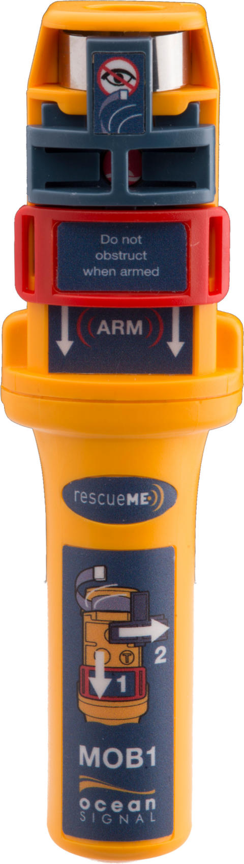 Hi-res image - Ocean Signal - Ocean Signal rescueME MOB1 man overboard device with integrated AIS and DSC