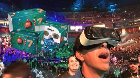 Wonderworld VR önskar alla en god jul. Delar ut 200 VR-glasögon gratis!