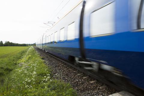 Trafikverket bygger ny plattform i Torpshammar