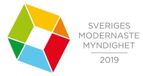 6 myndigheter nominerade till Sveriges Modernaste Myndighet 2019