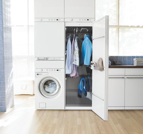 Varetag hele vaskeprocessen på 0,72 m²...
