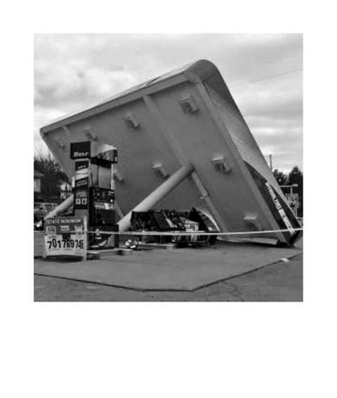 Troløse bilder/Faithless Pictures, Jan Freuchen, 62 Gasolin Stations (detail), 2007-2017