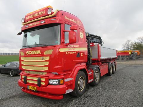 Ny Scania  til Alfred Nielsen A/S