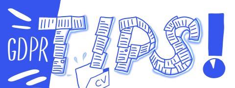 GDPR i sista minuten – tips till HR-avdelningen