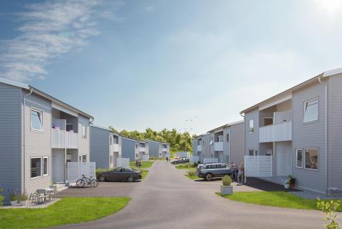Nu säljs ytterligare BoKlok-hem i Älvängen