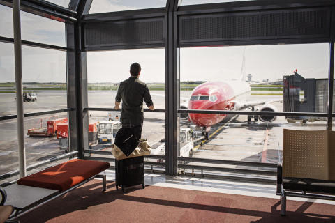 Passagervækst og højere punktlighed for Norwegian i april