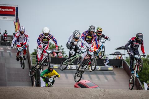 UCI World Cup på Sibirien BMX Arena i Ängelholm