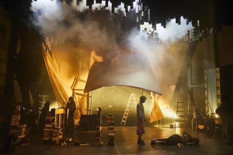 Folkteatern öppnar salongen till Den goda människan i Sezuan -  fri entré för alla 30 september
