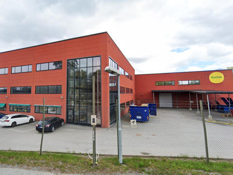 Risenta-fabriken i Rotebro