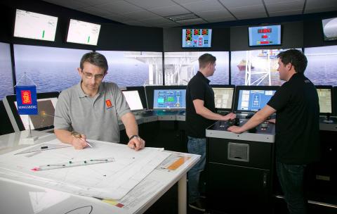 High res image - Kongsberg Maritime - DNV GL seminar