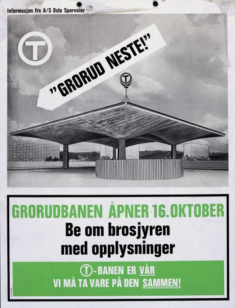 T-banen i Oslo 50 år - en utstilling fra arkivet