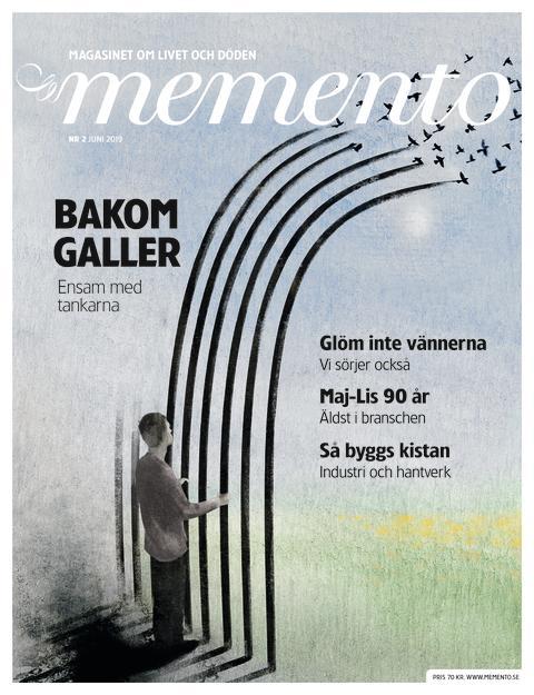 Reportage från Kumlafängelset och mycket annat i Memento – magasinet om livet och döden