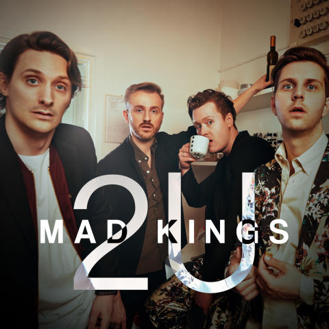 Omslag, Mad Kings - 2U