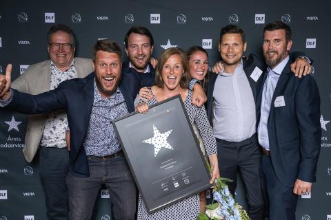 Kronfågels Klubbfilé med skinn blev vinnare av Årets Foodservicevara 2019.