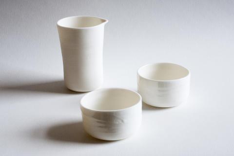 Nya delar 2017 - servis av keramiker Lena Willhammar för Daniel Berlin krog