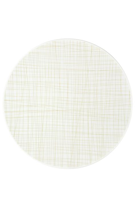 R_Mesh_Line Cream_Plate 33 cm flat