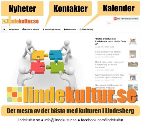 Veckans kulturnyheter från Lindesberg (vecka 41)