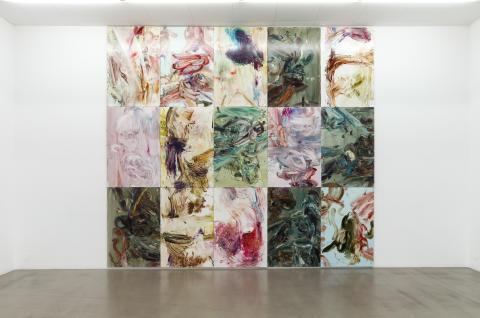 """Katrin Westman, installations vu """"Avhängda mantlar 2016 Galleri Andersson/sandström"""