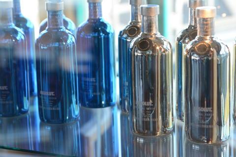 Absolut flasker