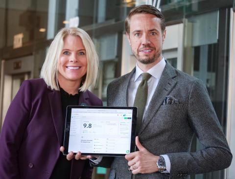 Sophia Allerth och Henrik Berghult