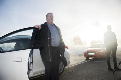 Leif Petterson (S) testkör med trafikfarlig syn – Synbesiktningen 2016