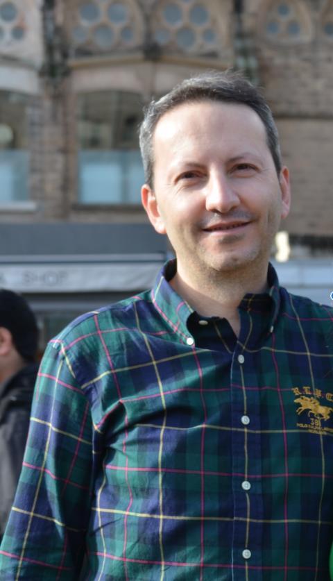 Amnesty och KI i gemensam manifestation för Ahmadreza Djalali