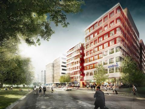 Vi flyttar till nya lokaler – välkommen till Sodexo i Arenastaden!