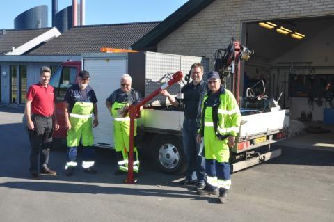 STF årsmøde: GribVand vinder lodtrækningen om transportabel kran