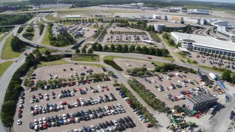 Parkeringsplatser, Stockholm Arlanda Airport