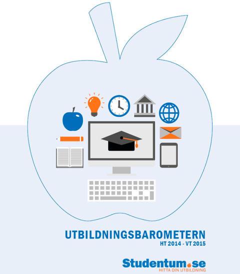 Ekonomi- och vårdutbildningar toppar listorna på Studentum.se