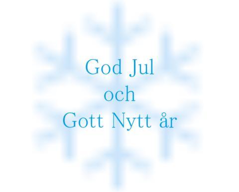 Julhälsning från Inkubatorn i Borås