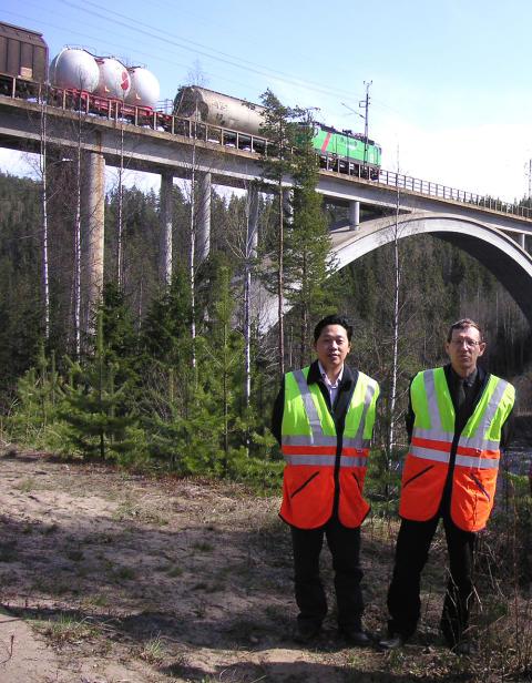 Översyn av broar leds av LTU forskare
