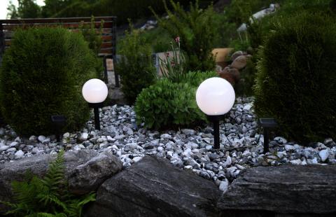 Solladdad Trädgårdsglob