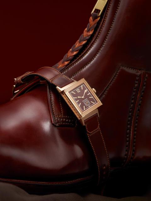 Jaeger-LeCoultre Revero med Casa Fagliano armband