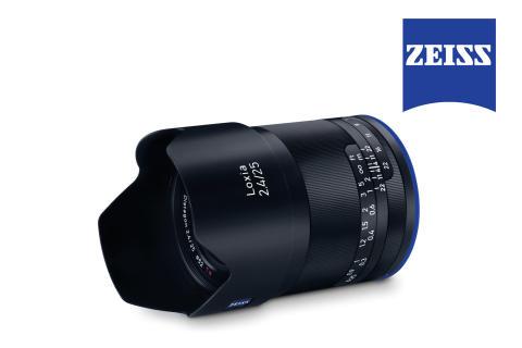 Zeiss Loxia 25mm f/2.4 – robust vidvinkel för Sony