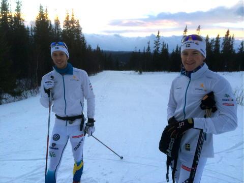Hellner och Peterson OS-laddar i Vålådalen