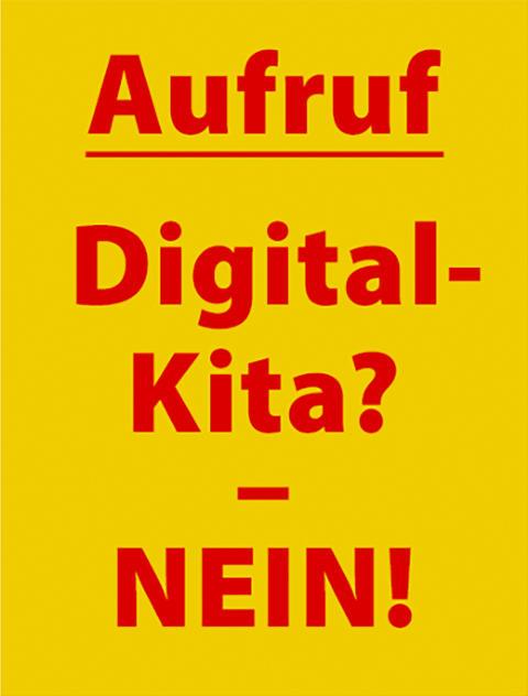 Grundlage für Identität und Gesundheit. Pädagogische Sektion am Goetheanum unterstützt Petition ‹Nein zur digitalen Kita!›
