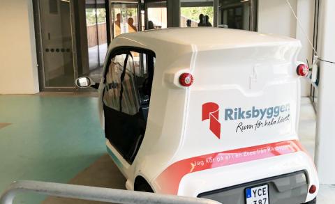 Brf Viva, mobilitetslösningar, Riksbyggen