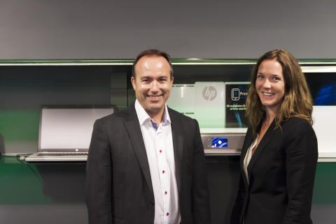 Hewlett-Packard Printing and Personal Systems i Norge ledes av Verner Hølleland og Ellen Vrålstad
